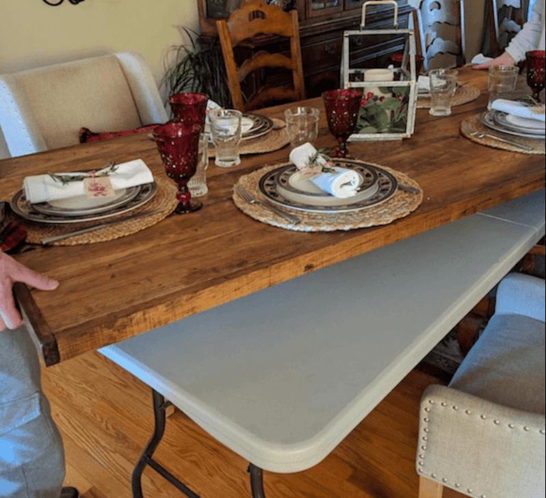 Beautiful Diy Folding Plastic Table Topper Wood 2020 Diy 家具 木製テーブル 板テーブル