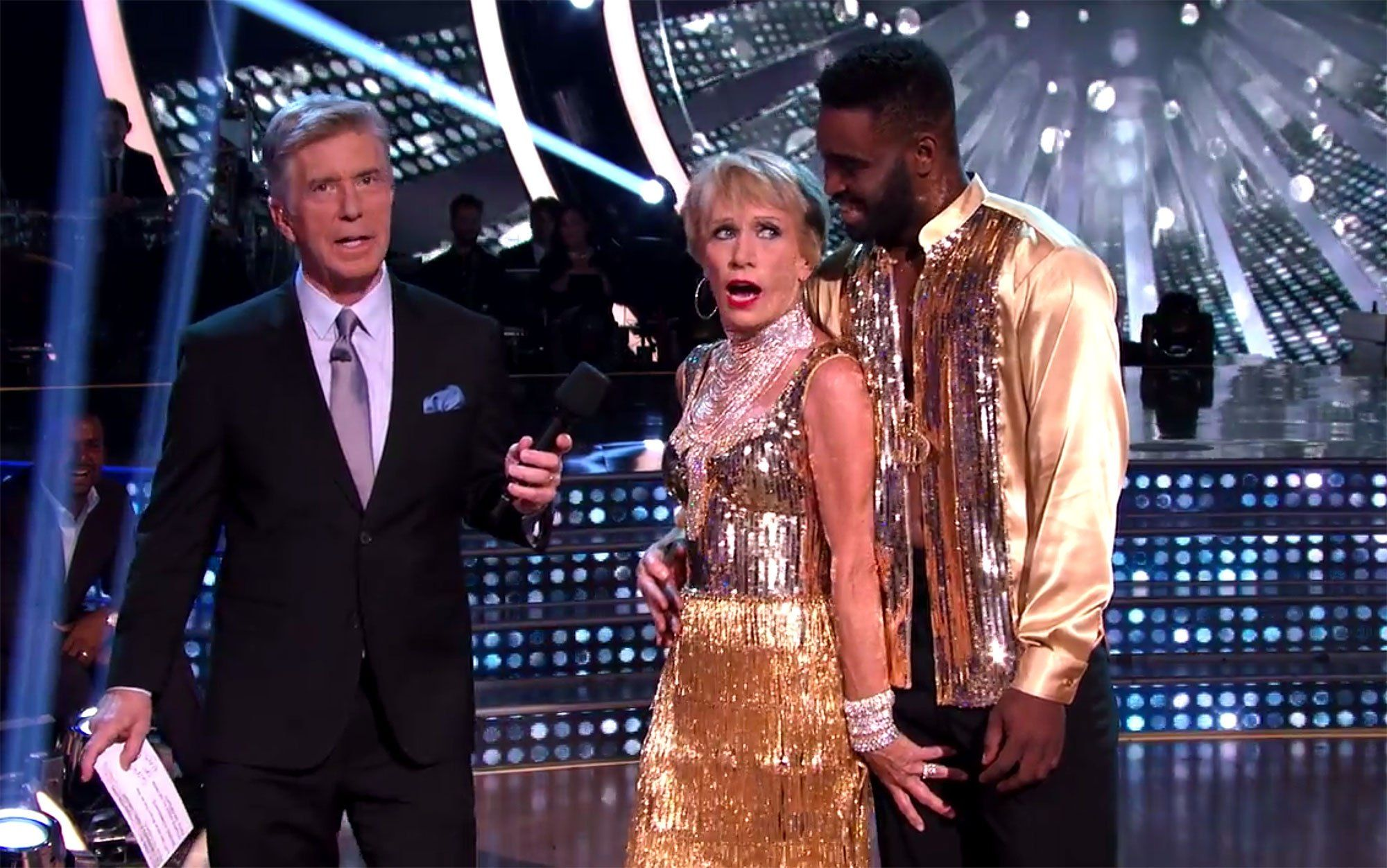 Shark Tank's Barbara Corcoran Gets Very Handsy with DWTS