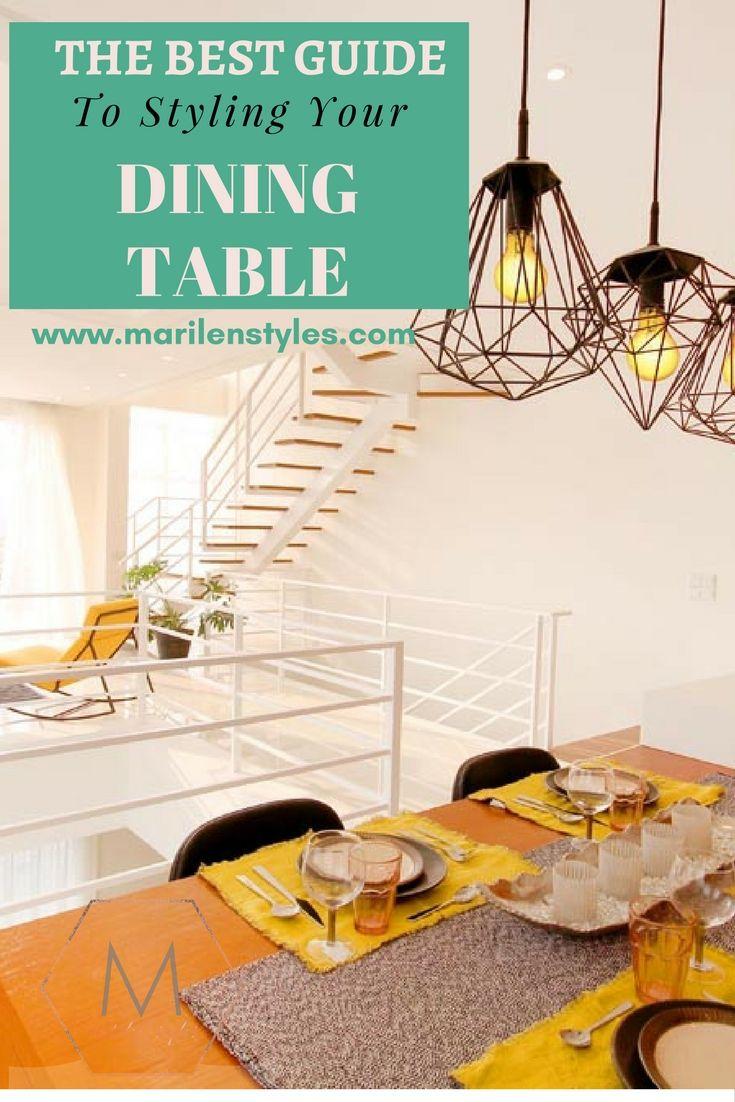 Dining Table Styling Tips Dinner Designer For Room Style