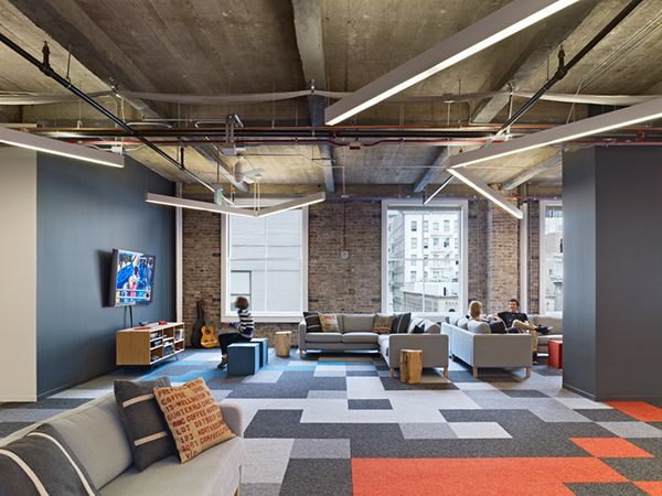 New Office For A Mobile Gaming Company In San Francisco Offices Pinterest San Francisco