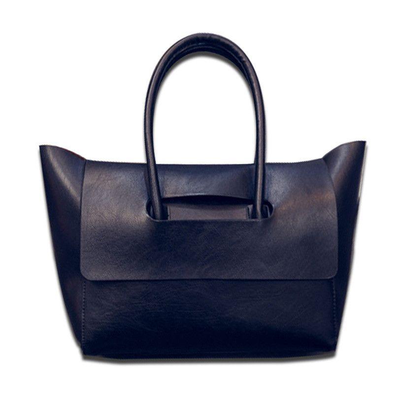 72fab07a64 New fashion Women PU Leather Handbag Tote bag messenger bag with cover bat  wings brand designer