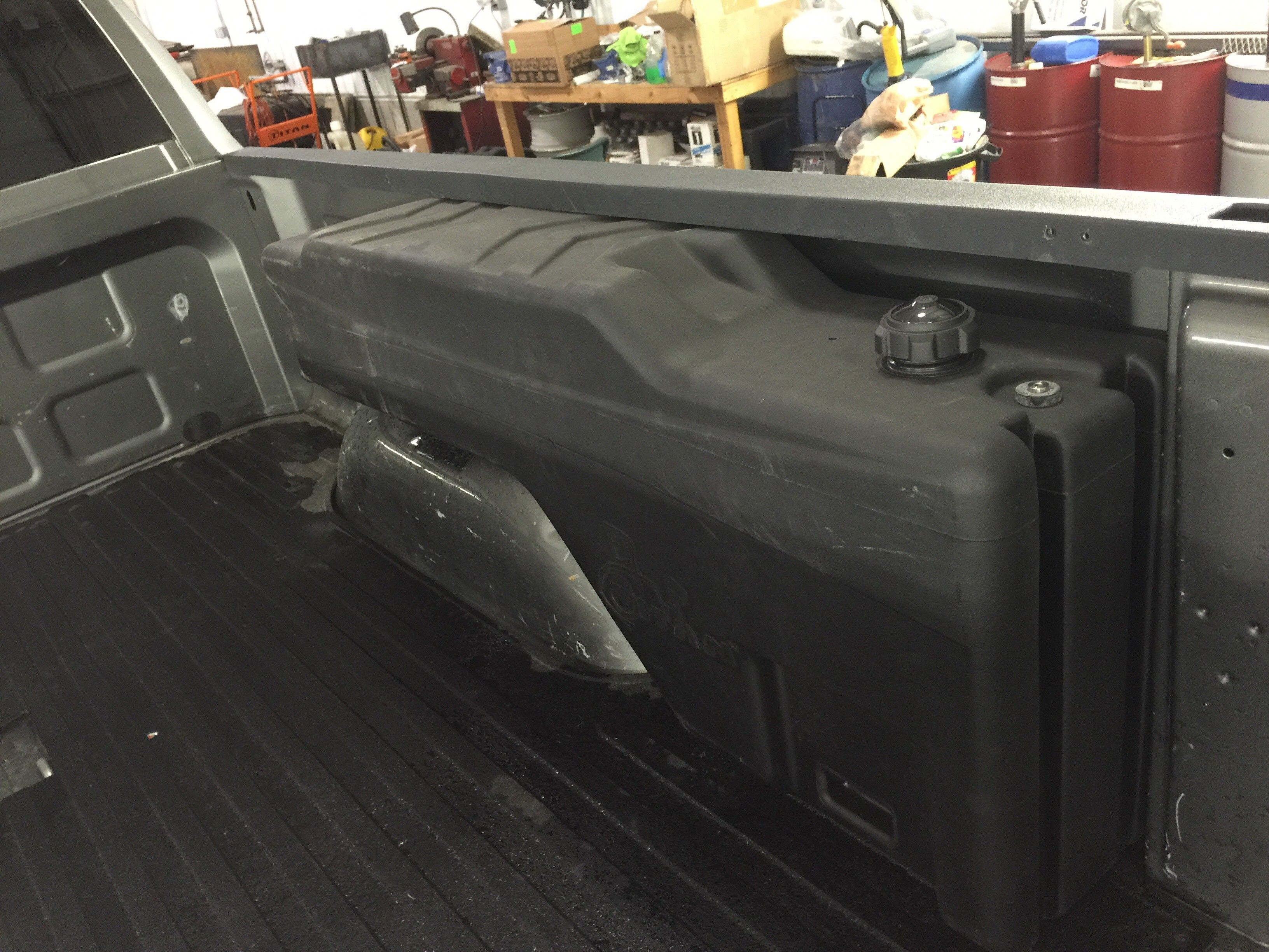 Truck Auxiliary Fuel Tank Google Search Transfer Tanks Truck Bed Overland Truck