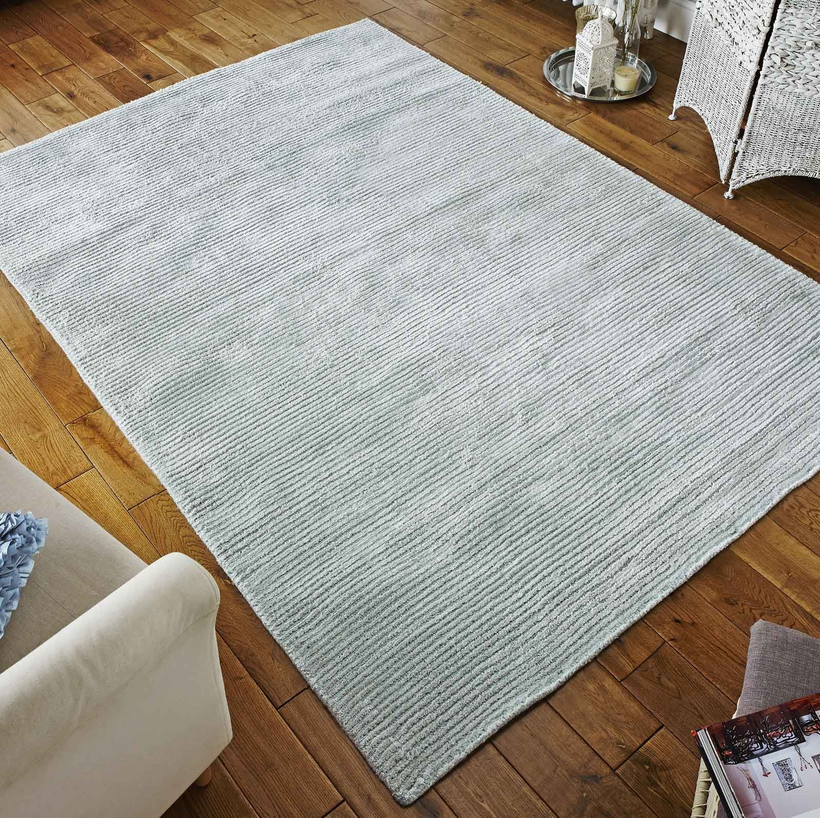 Conran Rug In Duck Egg Blue With