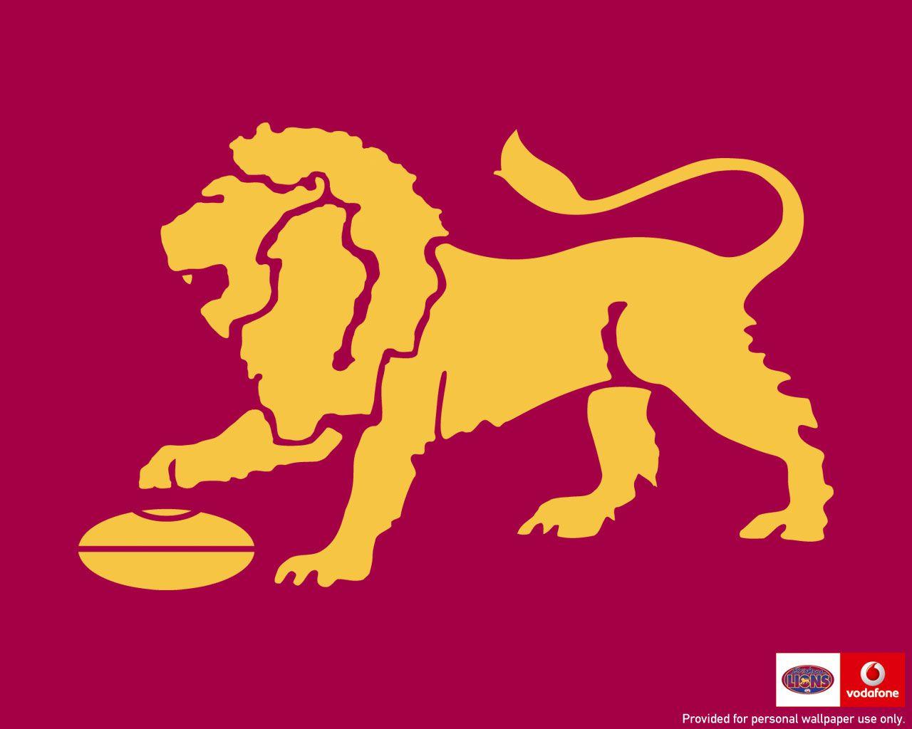 Brisbane Lions Emblem Wallpaper Lions Afl West Coast Eagles