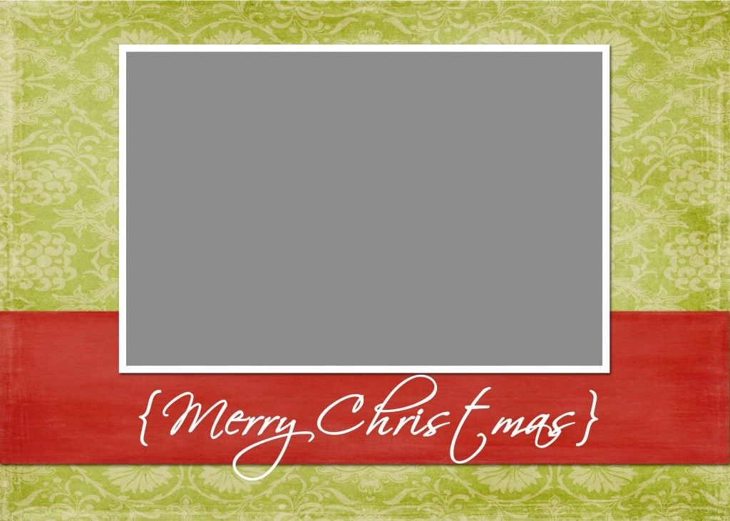 Christmas Card Templates {Free Download} | Photography | Pinterest ...