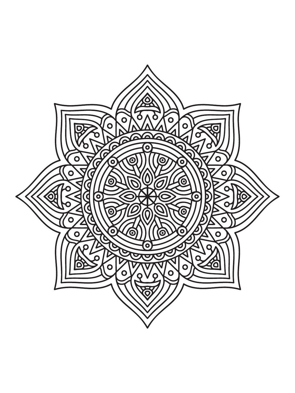 Mindfulness Mandalas N 3 Printable