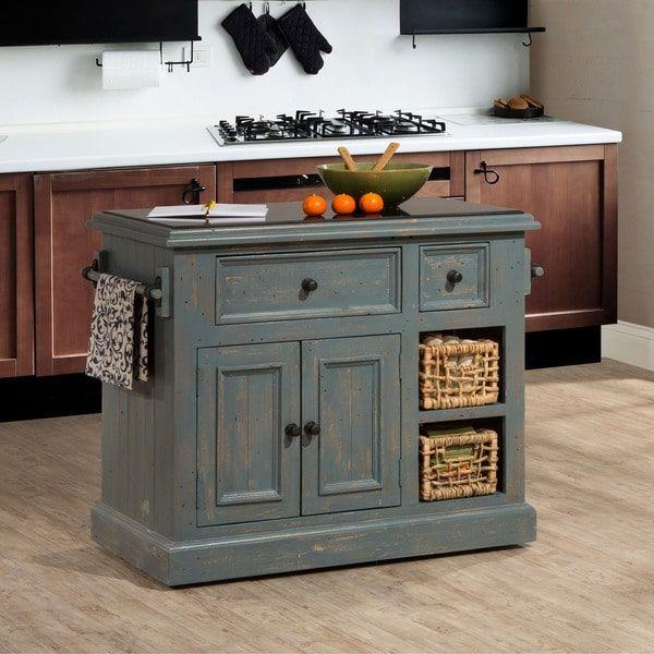 Hillsdale Furniture Nordic Blue Finish Tuscan Retreat Medium ...
