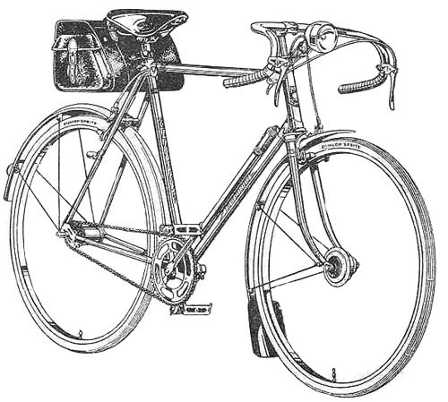 Humber Clubman With Images Bike Illustration Bicycle