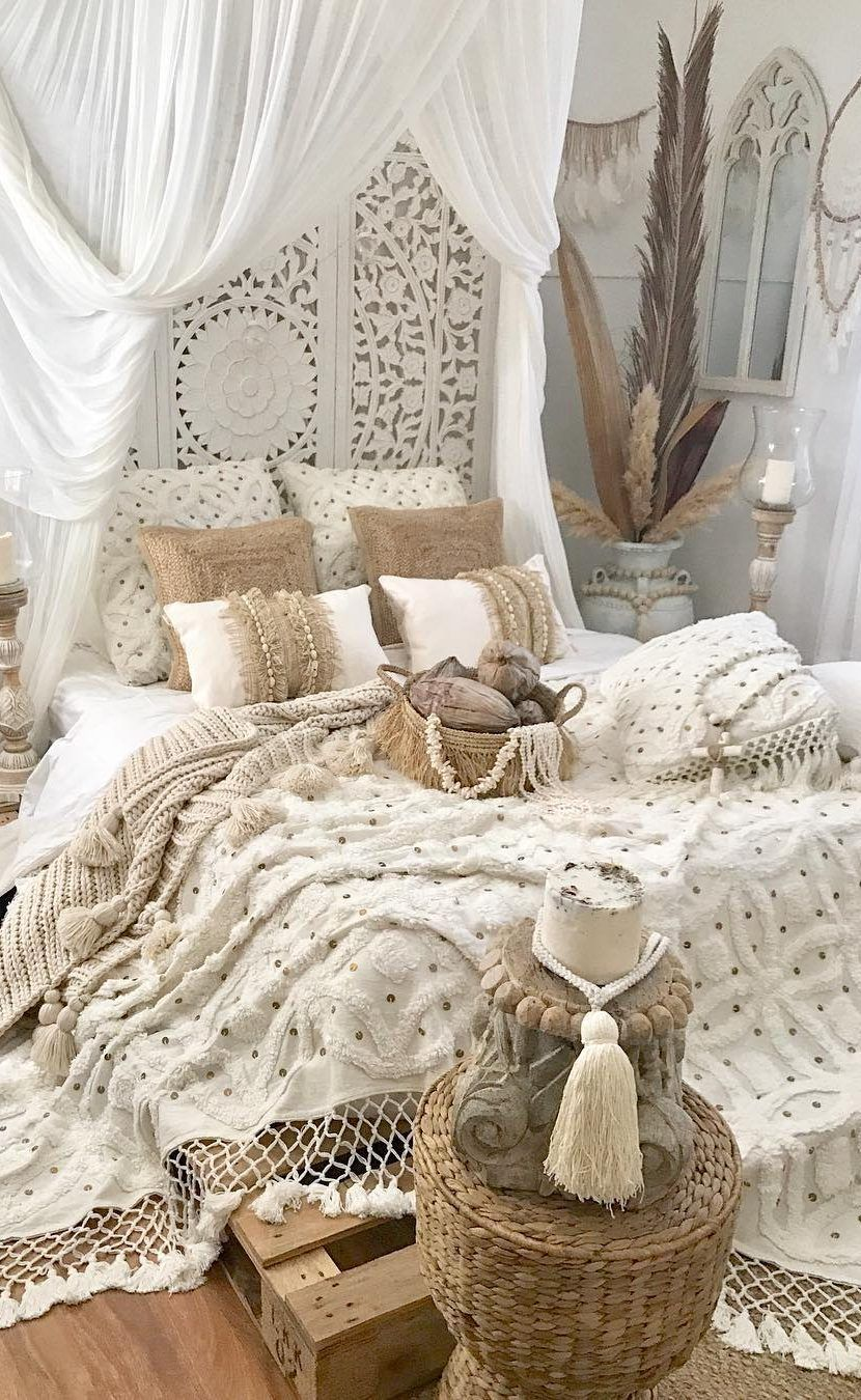 58 New Trend And Amazing Bedroom Design And Interior Ideas Page 5 Of 58 Evelyn S World My Dreams My Colors And My Life Amazing Bedroom Designs Bohemian Bedroom Design Small Room Bedroom