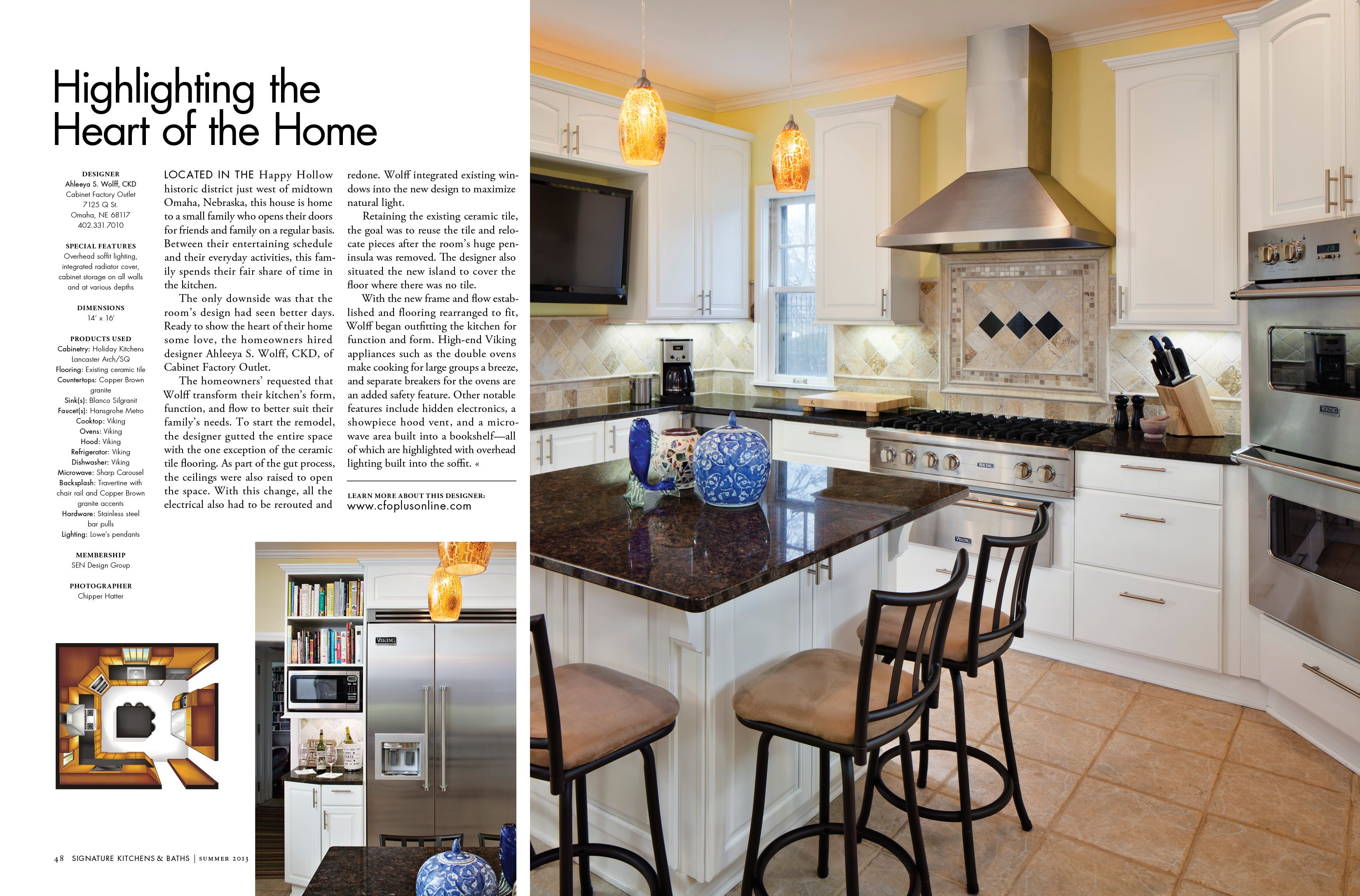 Highlighting The Heart Of The Home   Cabinet Factory Outlet  Www.cfoplusonline.com