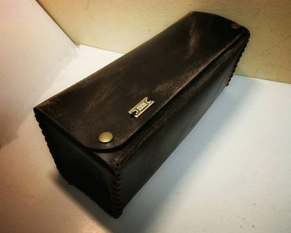 Vintage Toiletry Bag Dopp kit Personalized by VakalisCreations