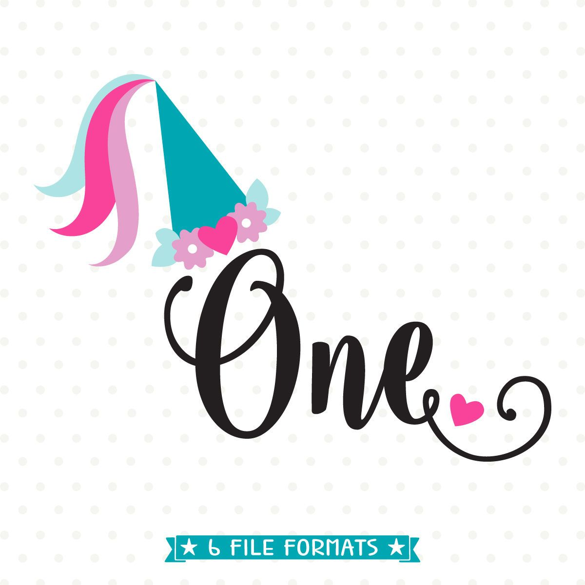 1st Birthday SVG, Princess Birthday SVG file, First