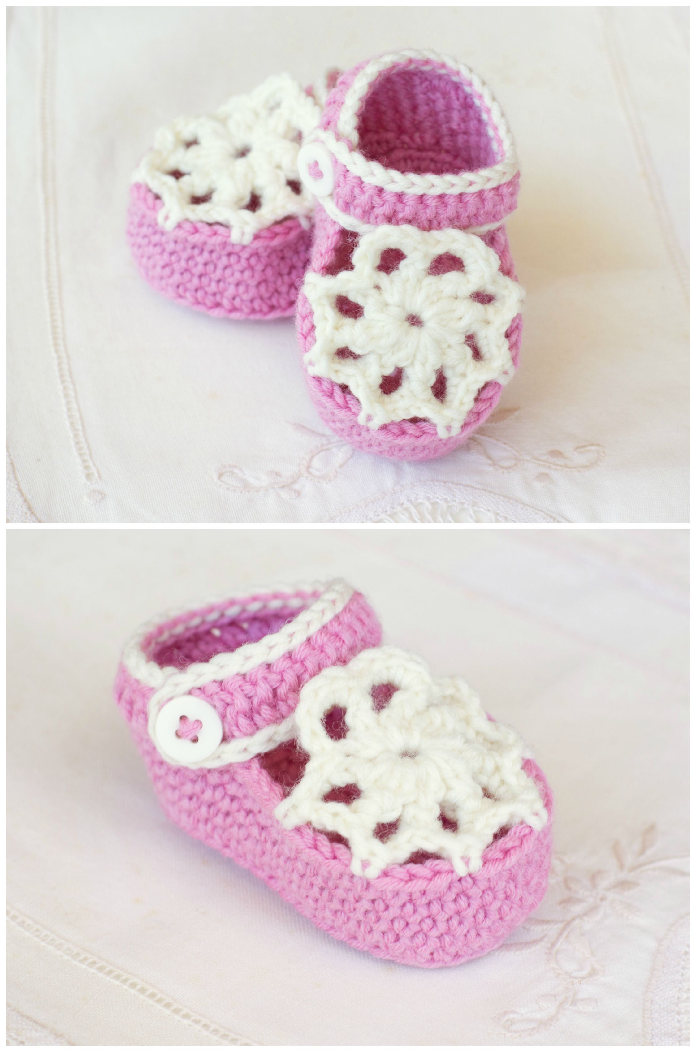 Ice Cream Swirl Baby Booties - Crochet Pattern + Giveaway | Wip ...