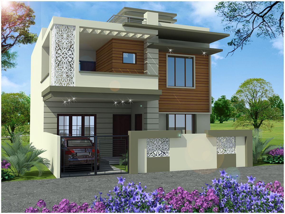 Small house elevation bedroomcolourdesignphotos housefrontelevation asianpaintswallcolour wallcolourdesign duplexhousedesign also rh pinterest