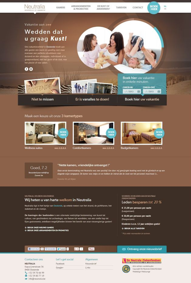 Neutralia 20 Best Hotel Website Designs For Your Design Inspiration