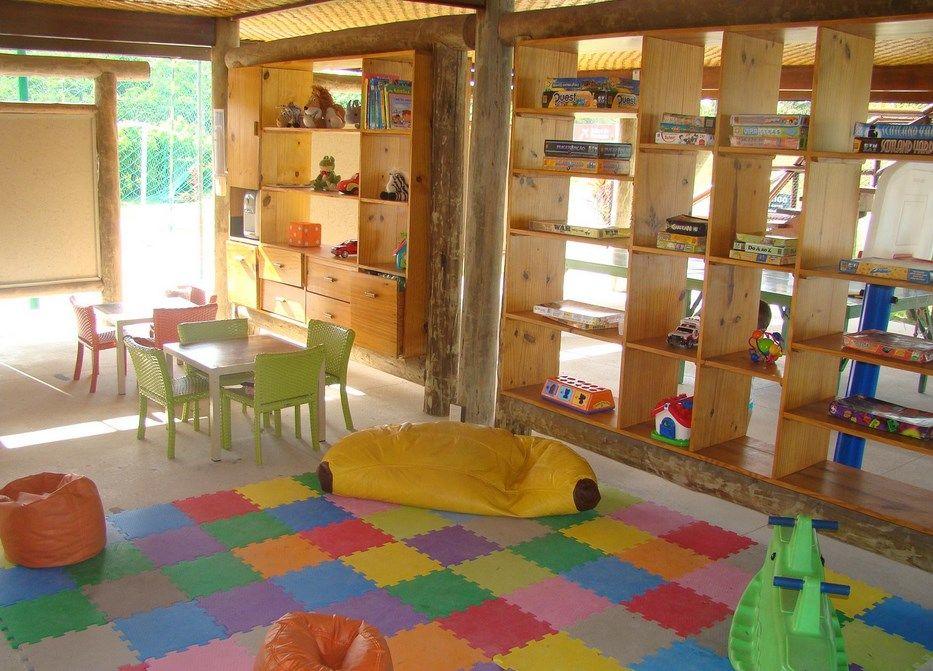 Sala de recreação para as crianças no Nannai Beach Resort.
