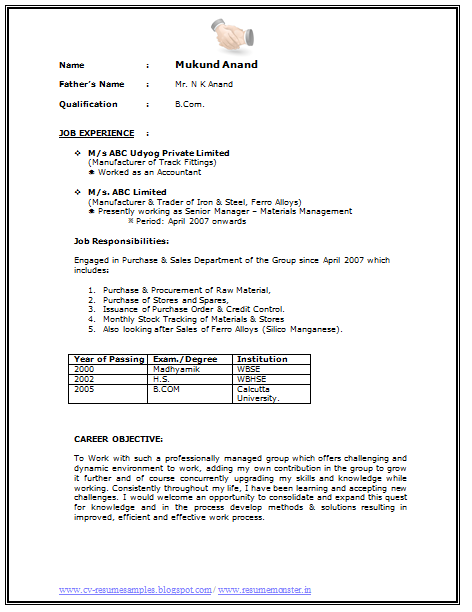 Resume Examples For Graduate Students Page   Career