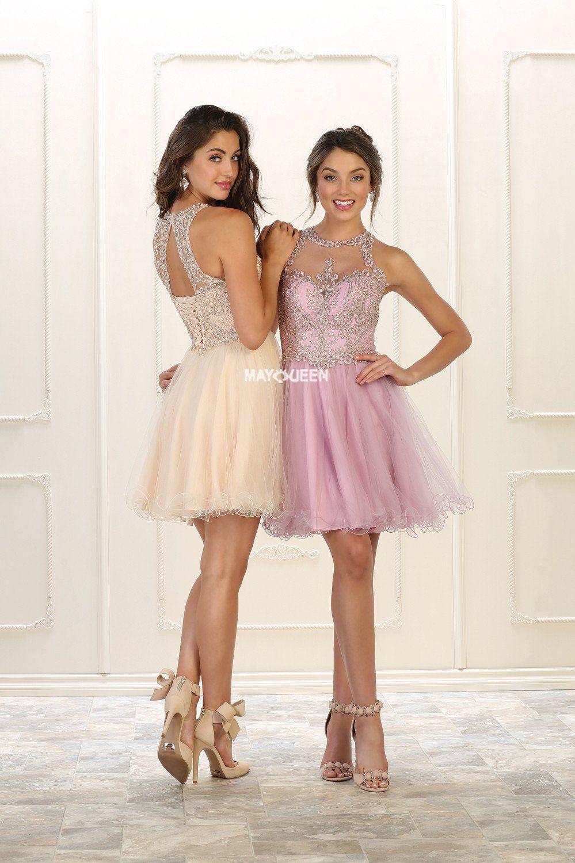 Mq sleeveless sequins u rhinestones short mesh dress friend