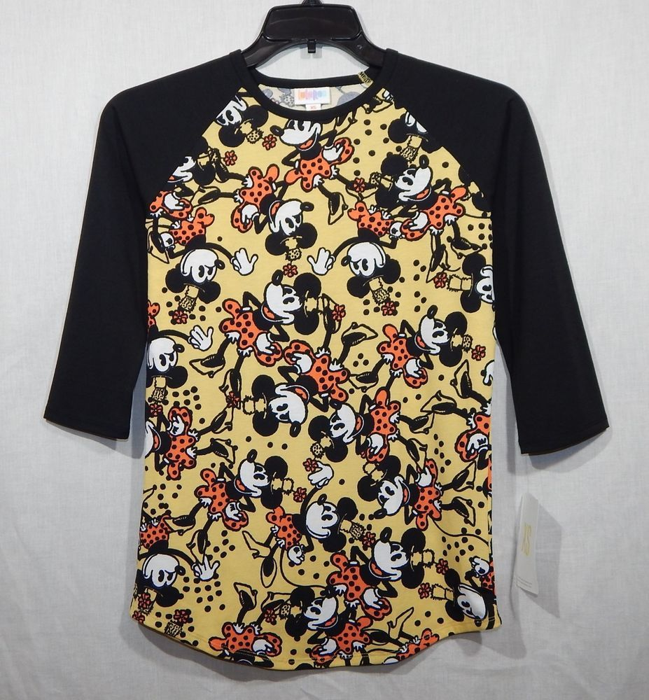 9a873146327340 NEW LULAROE WOMENS RANDY DISNEY TOP XS RAGLAN SLEEVES SHIRT TUNIC MINI  MOUSE #fashion #clothing #shoes #accessories #womensclothing #tops (ebay  link)