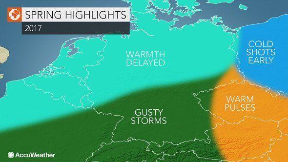 شبكة أجواء ألمانيا توقعات ربيع 2017 استمرار الطقس البارد خلال مارس يتبعها عودة الدفء و العواصف Instagram Posts Instagram Photo