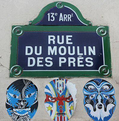 La rue du Moulin-des-Prés  (Paris 13ème) - Où j'ai habité, autrefois ...