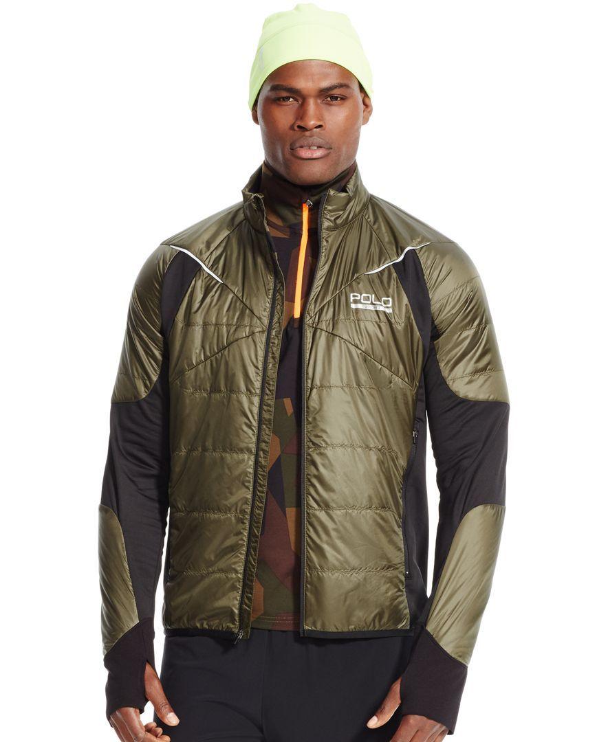 Polo Sport Men's Ripstop Windbreaker Hybrid Jacket