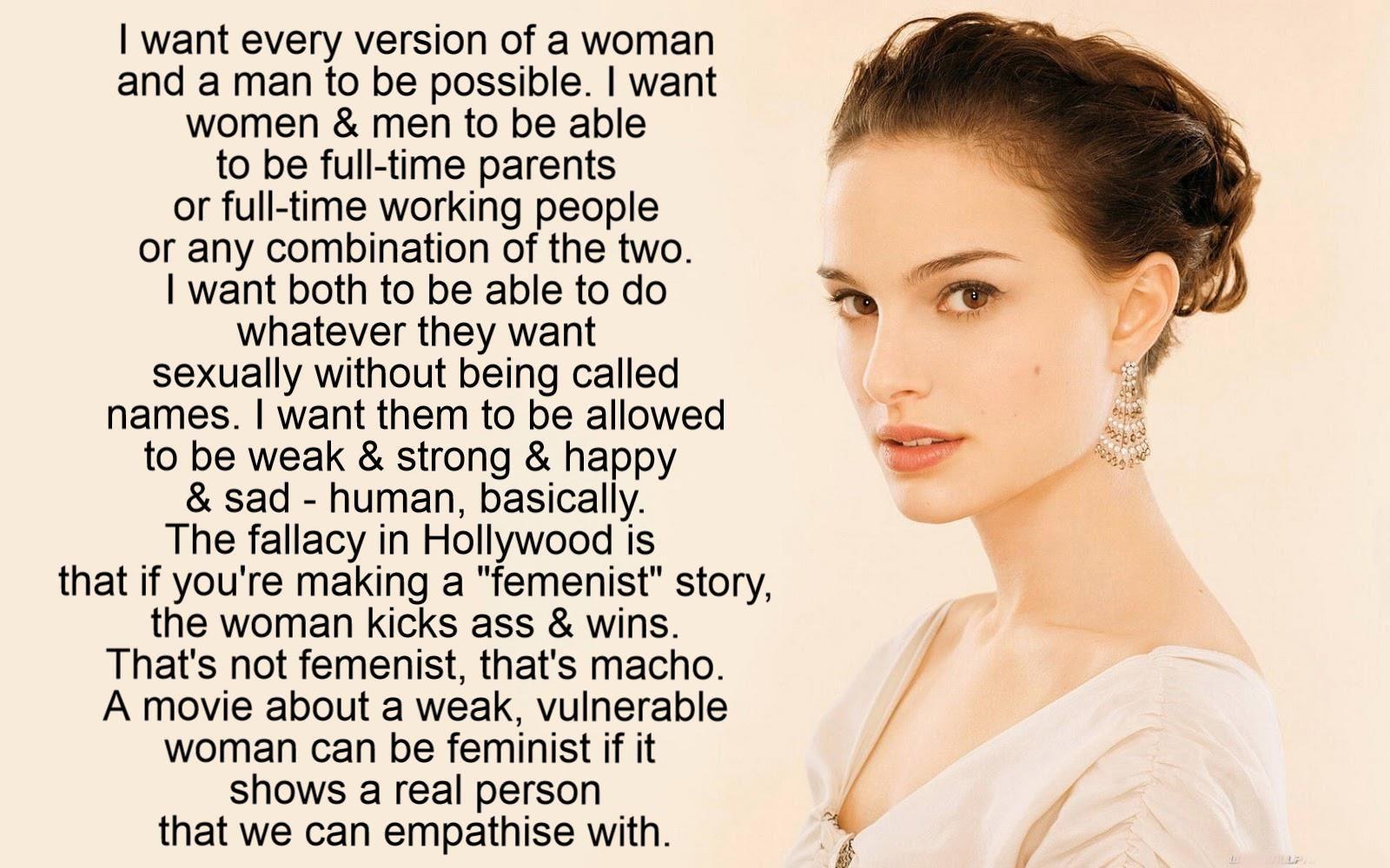 Natalie Portman on femenism  | Interesting People | Feminism