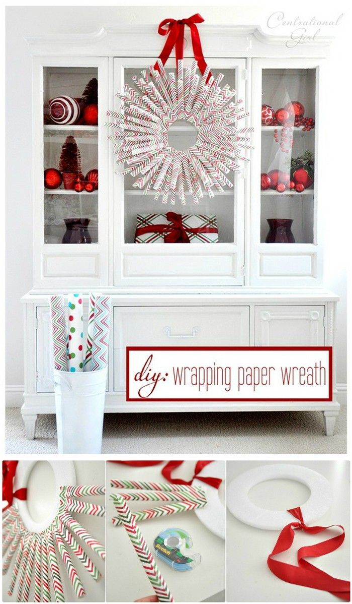 Wrapping Paper Crafts For Home Decor | Wrapping papers, Wrapping ...