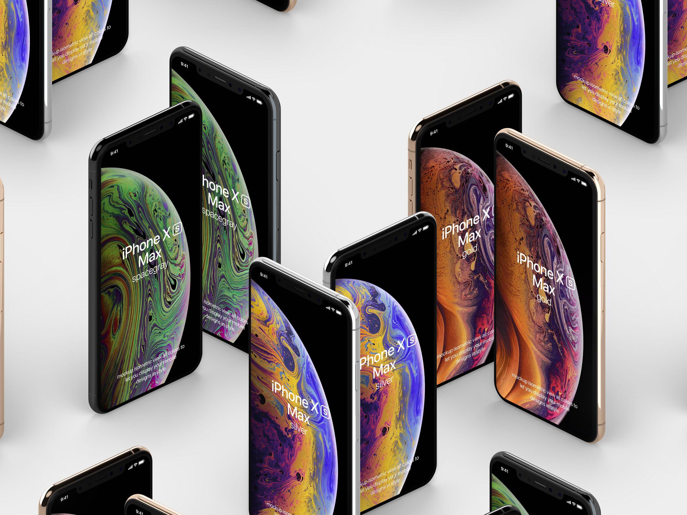 Free Psd Iphone Xs Max Mockup Vol2 Free Psd Mockup Psd
