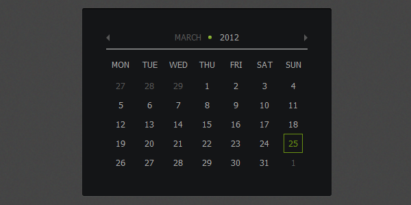 How to create calendar using jquery and css3 jquery ui in this tutorial we will code the jquery and css3 calendar that you can find in futurico ui pro made by vladimir kudinov to do it we will use css for all malvernweather Gallery