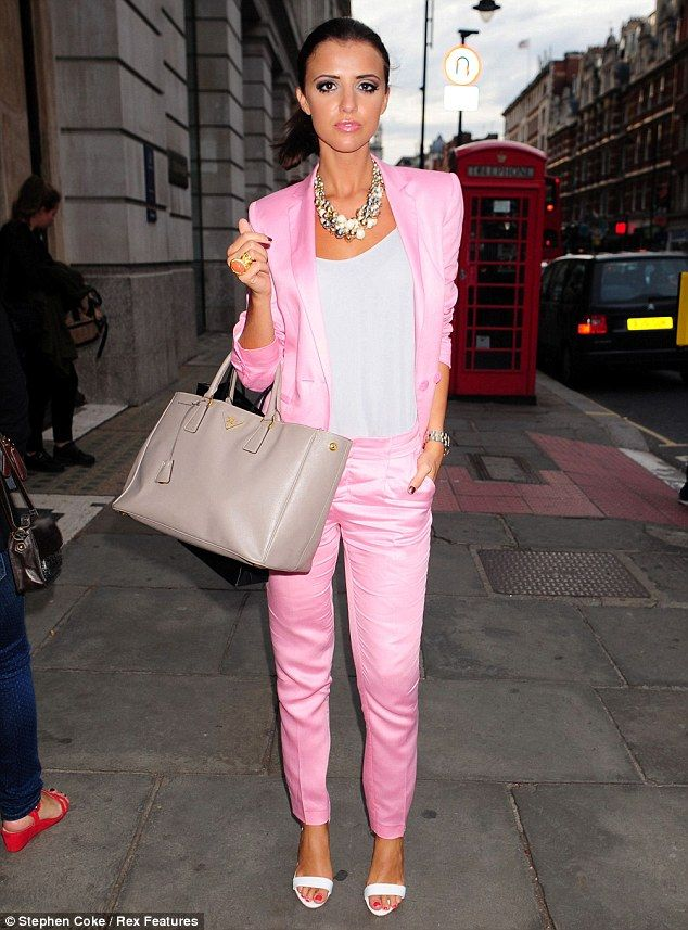 Lucy Mecklenburgh looks super slim as she steps out in 1980s Miami ...
