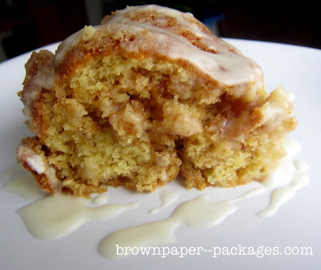 Sour Cream Coffee Cake (instead of flouring the pan, she sugars it!)