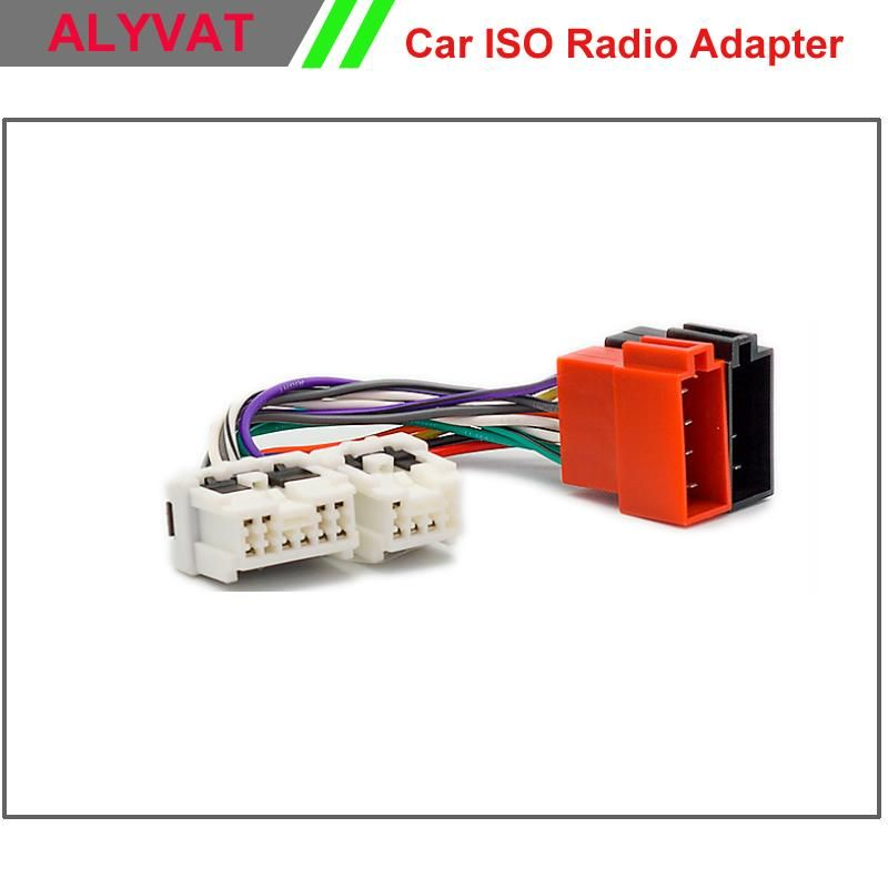 c098d6c1d6a1e732006cfec52bc807c7 visit to buy] car iso stereo wiring harness for nissan almera best buy stereo wiring harness at readyjetset.co