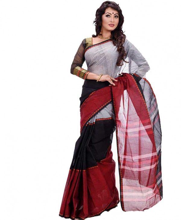 ee18e8dd815 Cotton Sarees K-413 | Pohela boishakh | Cotton saree, Dhakai jamdani ...