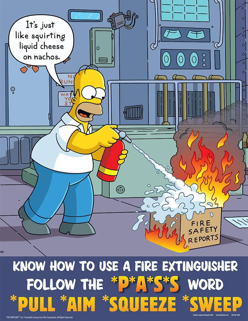 Pin by A to Z Statewide Plumbing on Simpsons Safety
