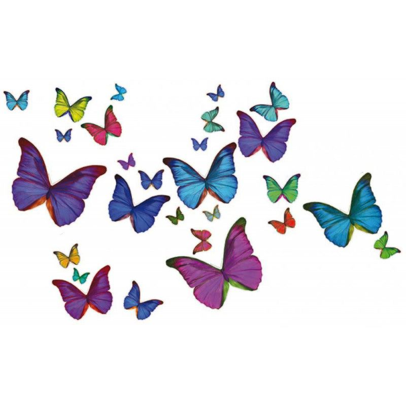 Dessin en couleurs à imprimer : Animaux - Insectes - Papillon ...