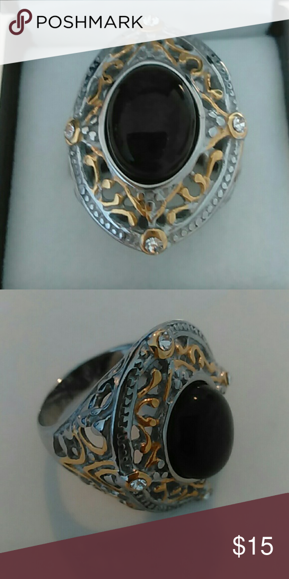Men's Sterling Silver Ring New without tags. Men's