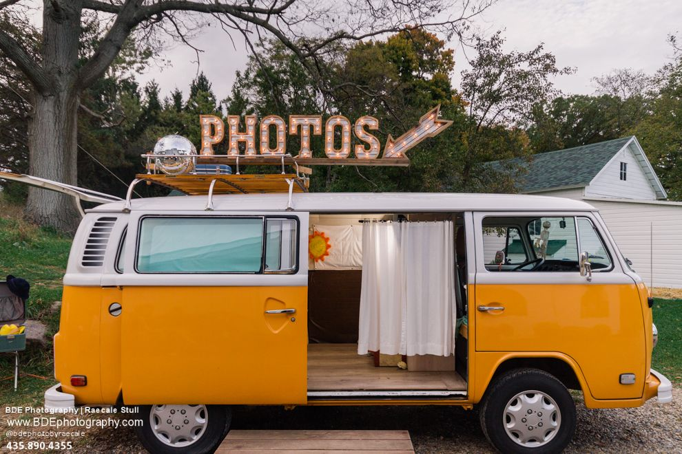 Photo Booth | West Michigan Photo Booth | Volkswagen Bus | VW Photo