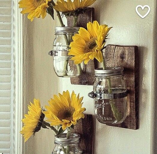 Wonderful Sunflower Kitchen · Country Themed Bedroom