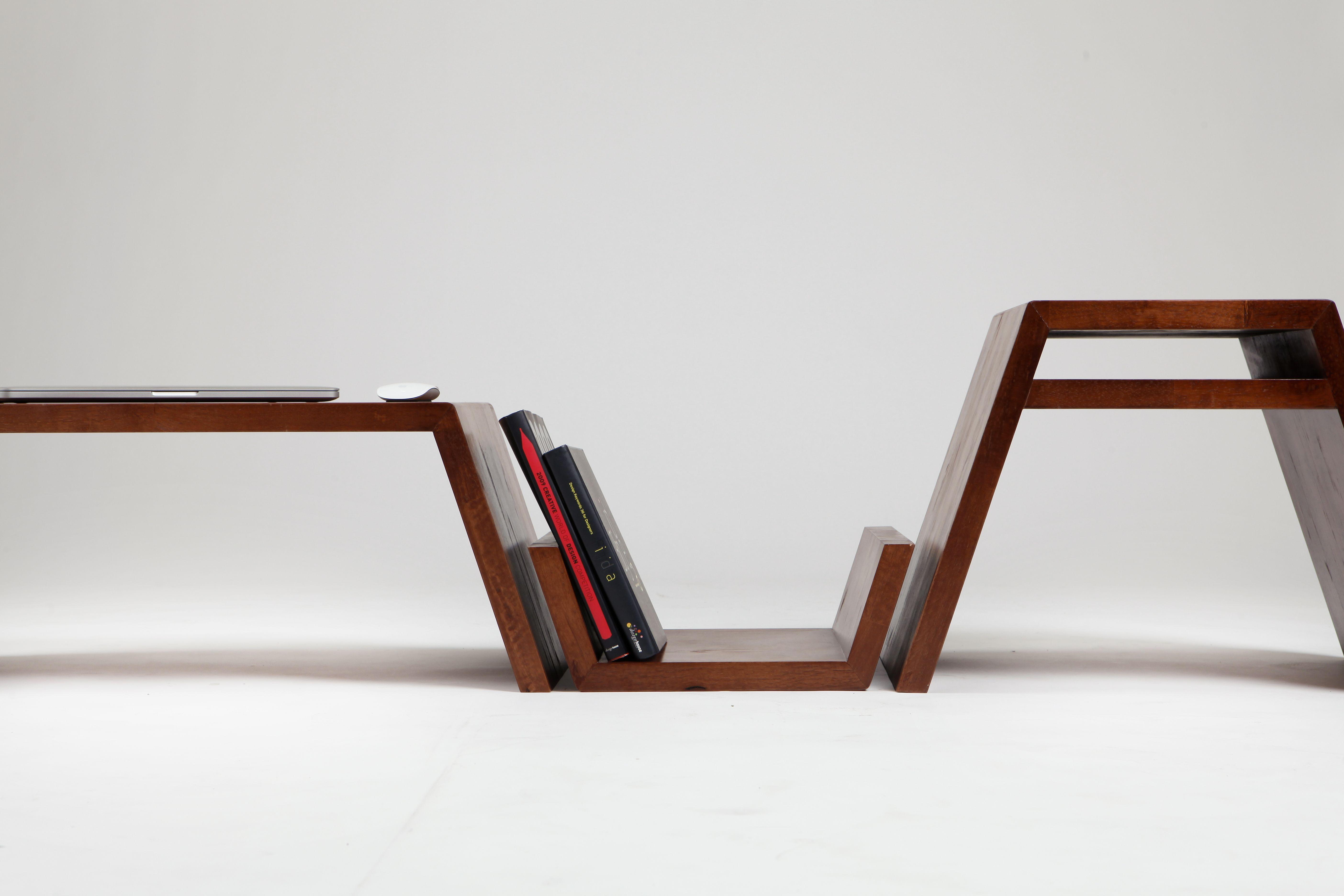 사다리꼴의 모듈형 소파 테이블 #Trapezoid_Table #JiMinKim #상명대학교 ...