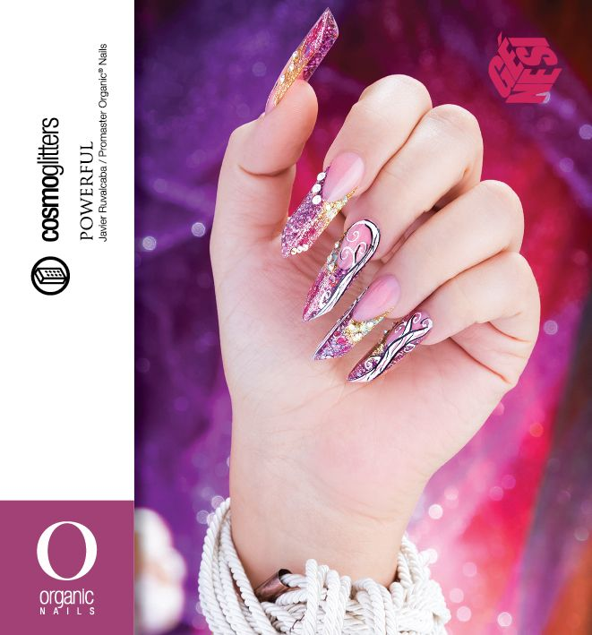 PORWERFUL Javier Ruvalcaba / Promaster® Organic Nails Video paso a ...