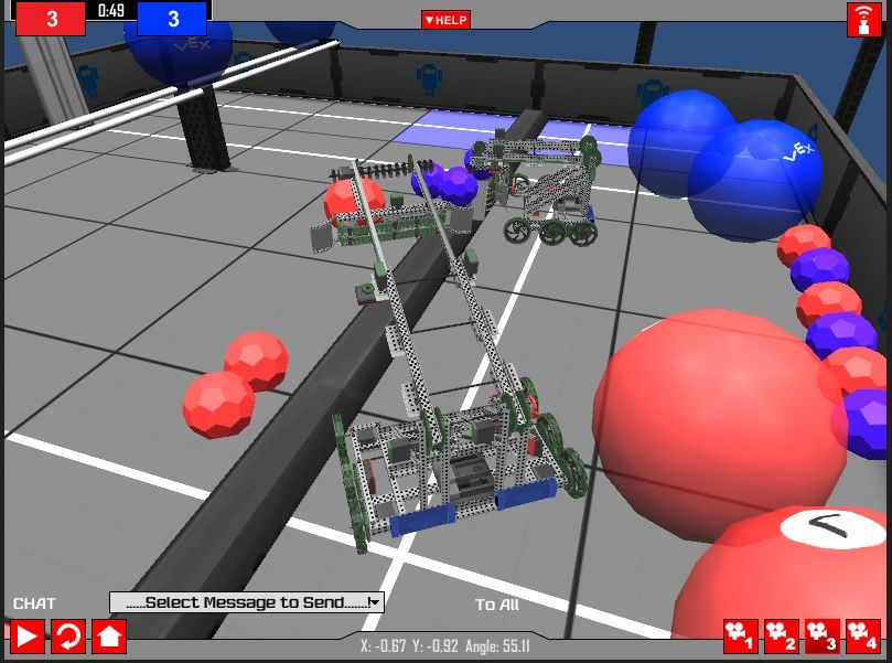 Vex Toss Up Virtual World Available Vex Pinterest Vex Robotics