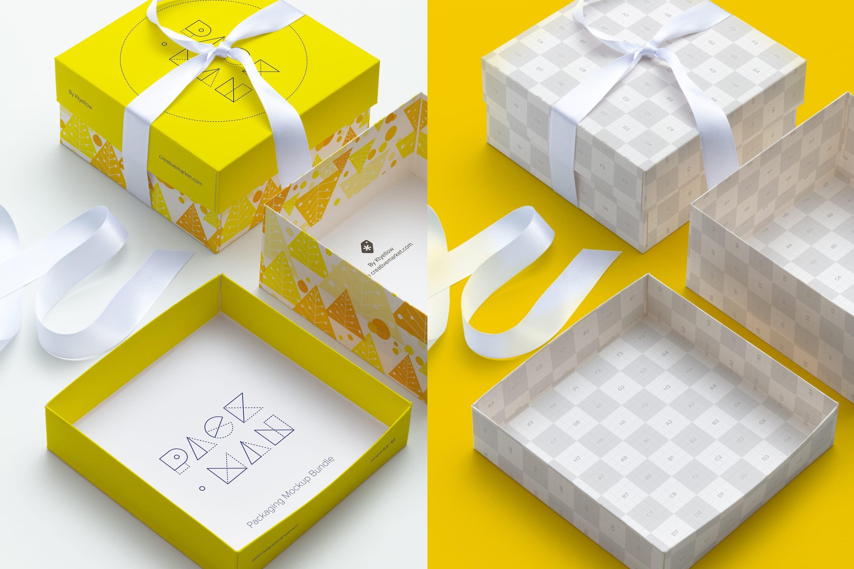 Download Big Gift Box Mockup 02 Big Gift Boxes Big Gifts Box Mockup