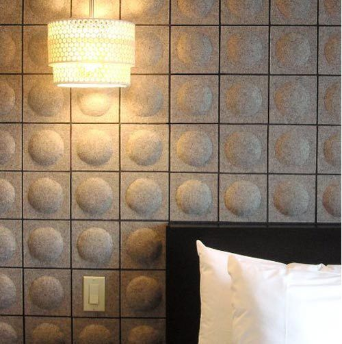 Felt Wall Covering It Would Be Excellent For Sound Proofing A Room