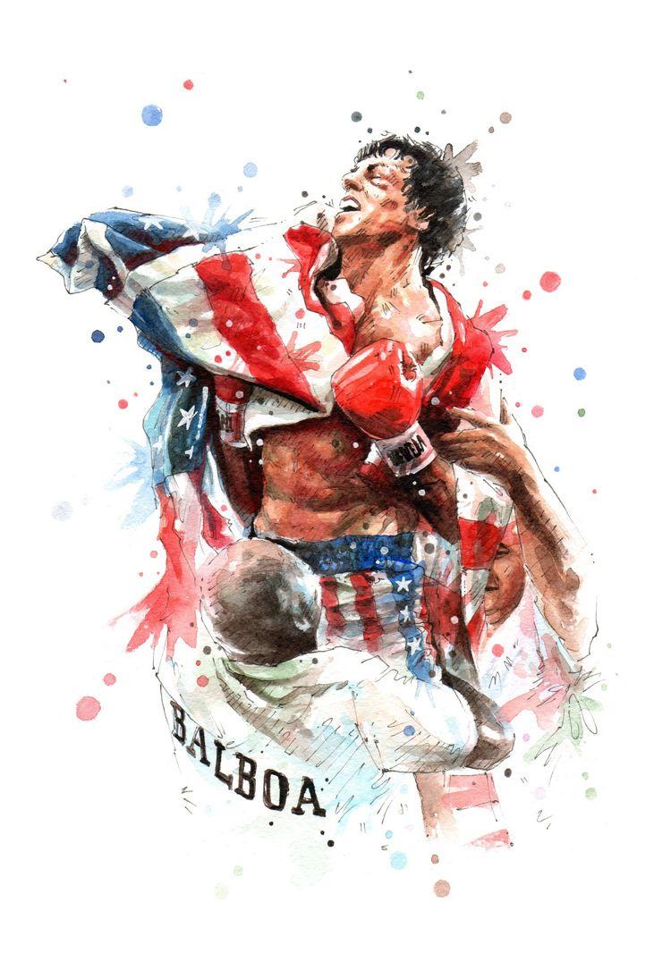 Rocky Balboa By Nazar Stefanovic Rocky Balboa Movie Rocky Balboa Rocky Film