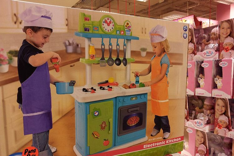 Food And Cooking At Toys R Us : Beware of stereotypes and bias. let children explore and use their