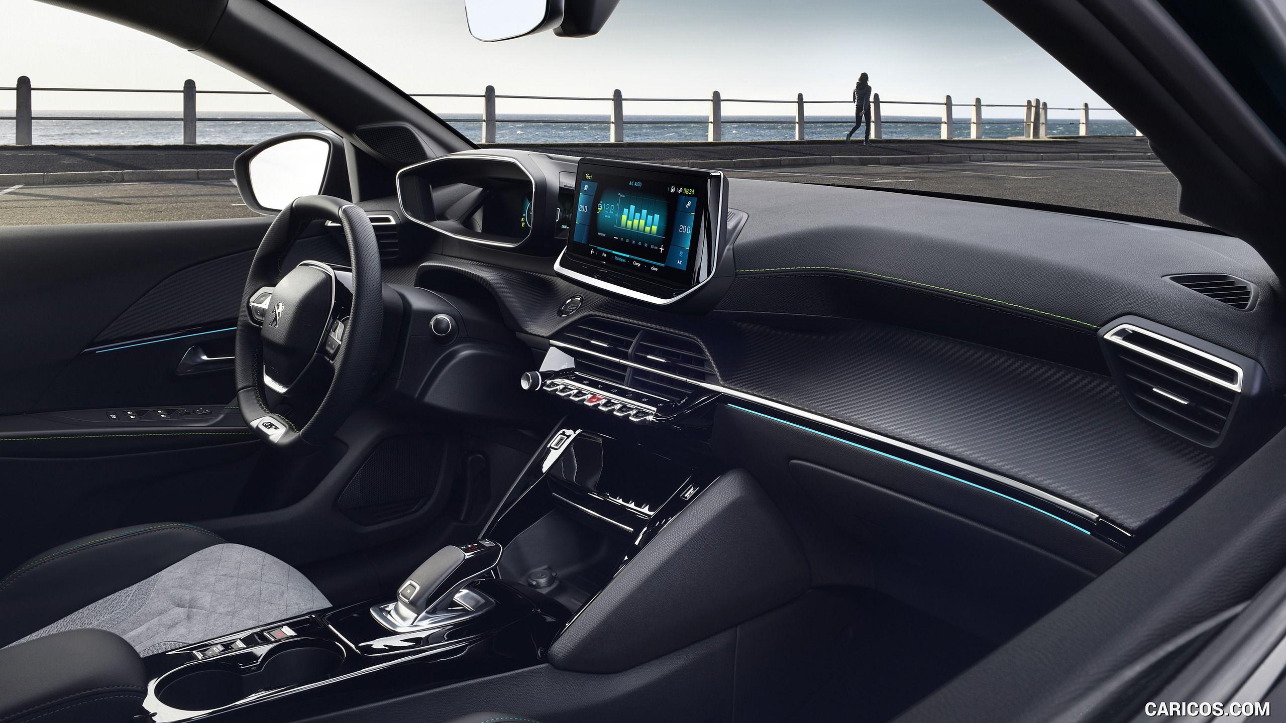 2020 Peugeot E 208 Ev Interior Hd Peugeot Azul