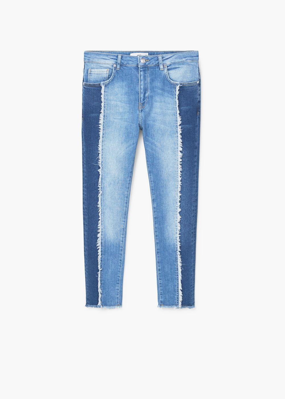 650866f6231 Jeans relaxed crop contrast - Mujer en 2019 | Proyectos que intentar ...