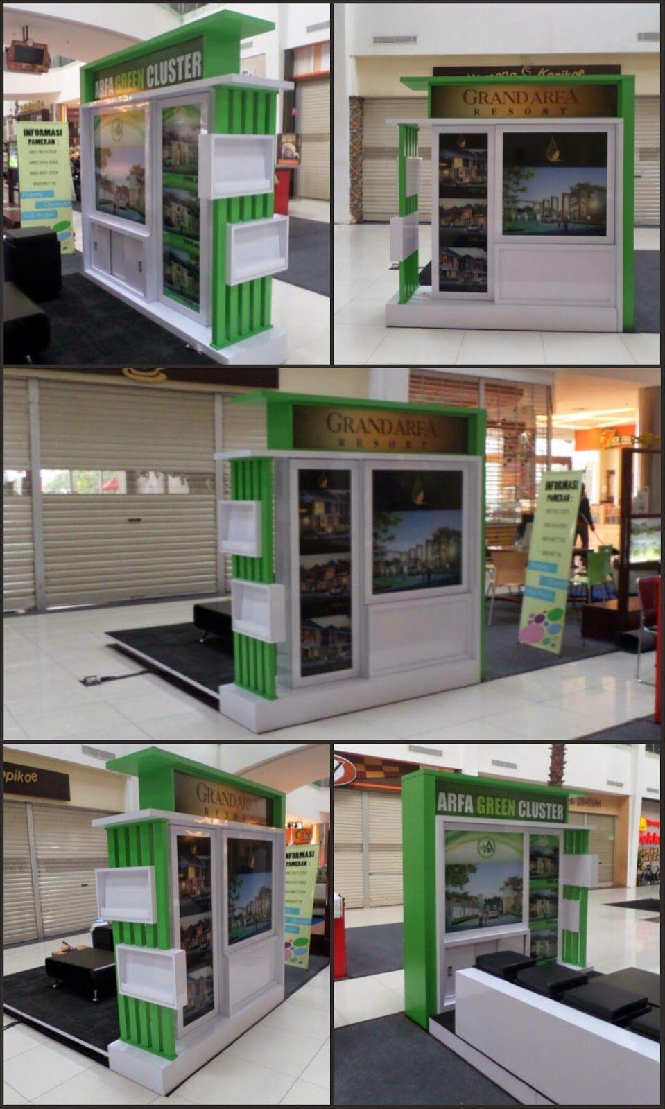 Arades Living Furniture Interior Booth Pameran Perumahan Arfa  # Muebles Favatex