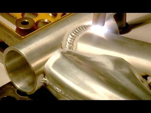 Welding Aluminum Bicycle Frames Youtube Welding Aluminum Tig
